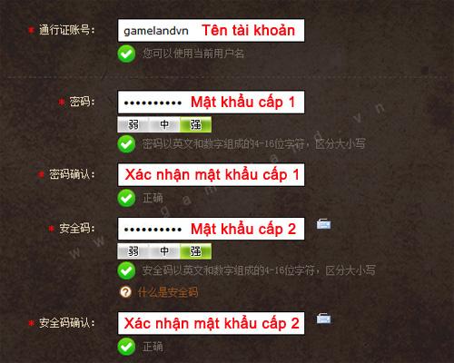 Hướng dẫn đăng ký Mabinogi Heroes (Trung Quốc) 2
