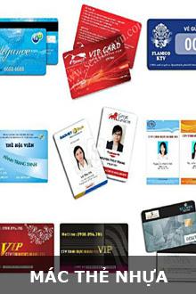 Mác thẻ nhựa