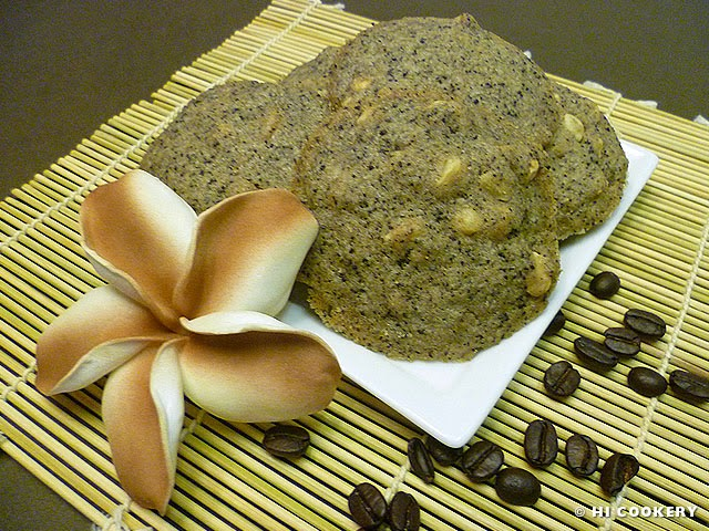 Coffee and Nut Cookies