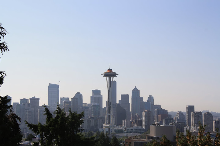 View from Kerry Park, Seattle