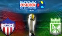 Junior Nacional final Superliga Postobon