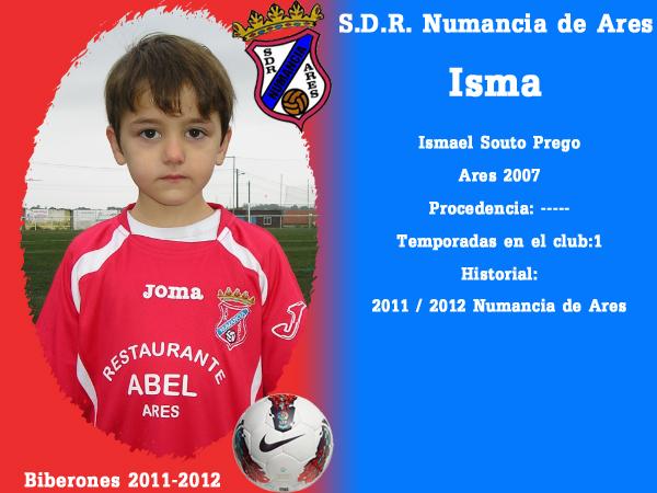 A. D. R. Numancia de Ares. Biberones 2011-2012. Isma