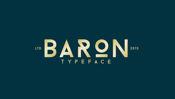 BARON Free Fonts
