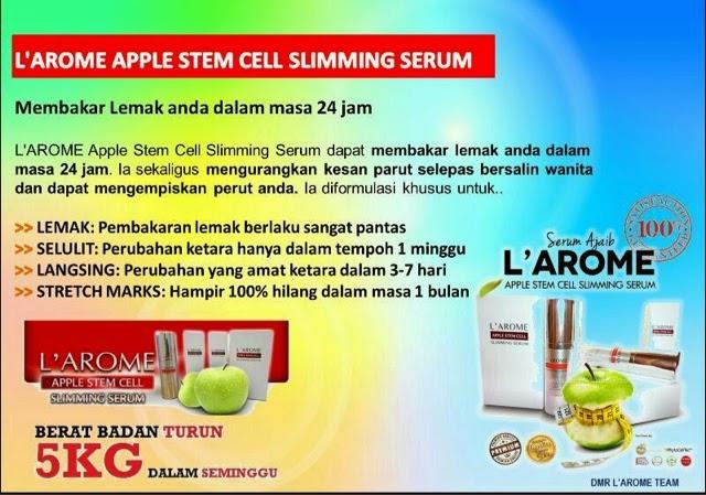 Menjual Produk Kecantikan Dan Kesihatan : L'AROME SLIMMING ...
