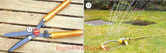 Jardinage-logement-dictionnaire de photo