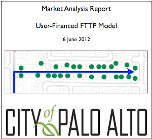 Palo Alto user financed FTTP study