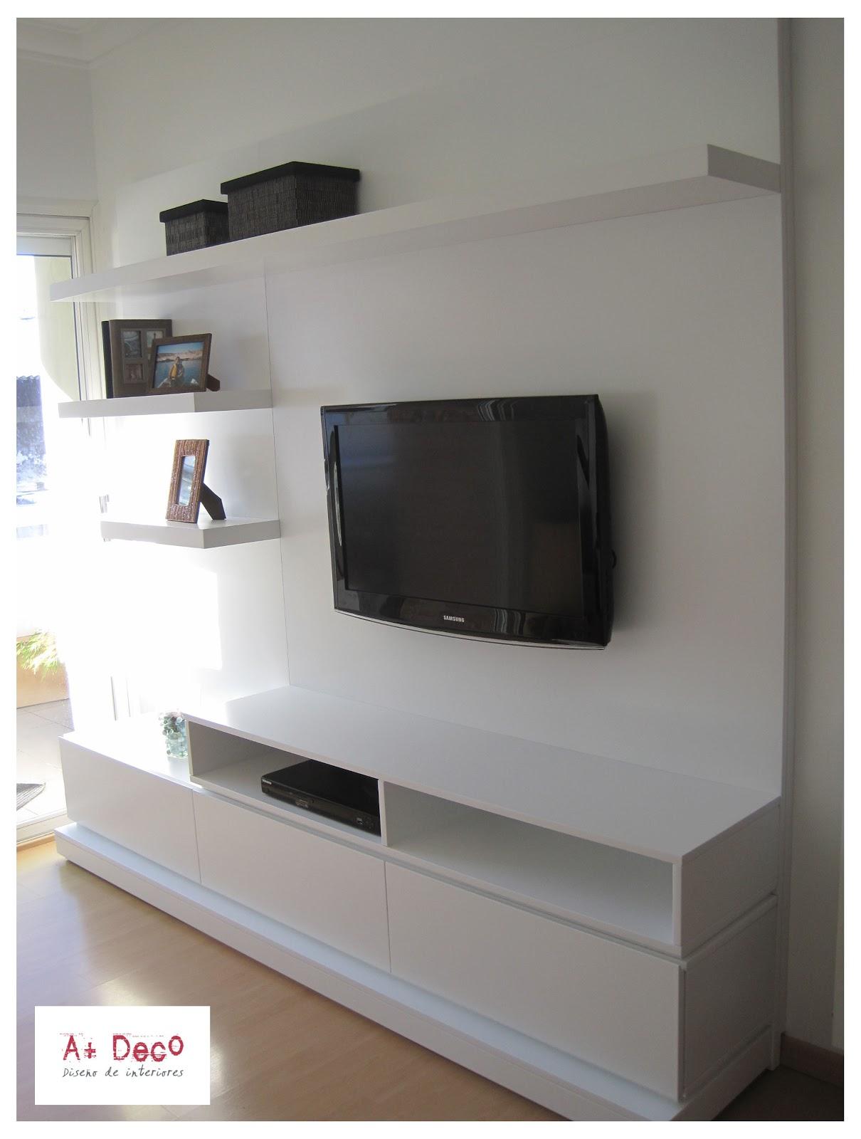 A deco marzo 2011 for Muebles de pared para living