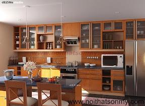 Kệ bếp gỗ 12