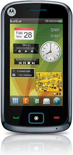 Motorola motoscreen