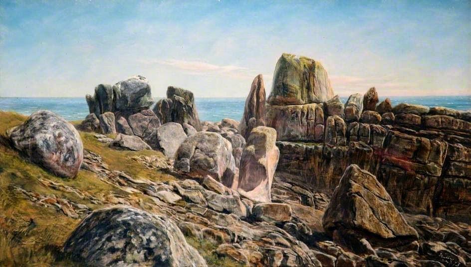 John Edward Brett - Rocks, Scilly