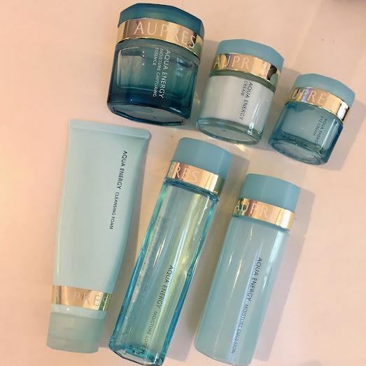 Aupres Aqua Energy skincare