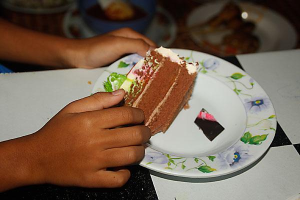 sepotong kek hari lahir