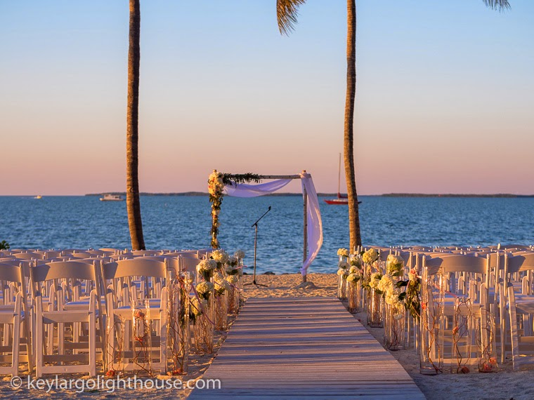 Elegant Valentine's Day Wedding in Key Largo Florida