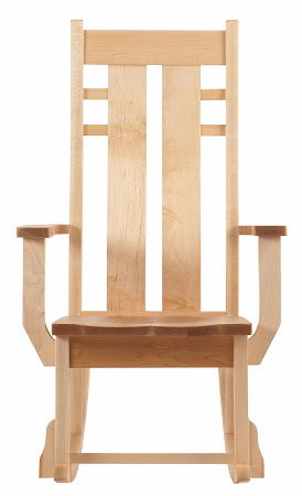 Seneca Rocking Chair in Natural Hard Maple
