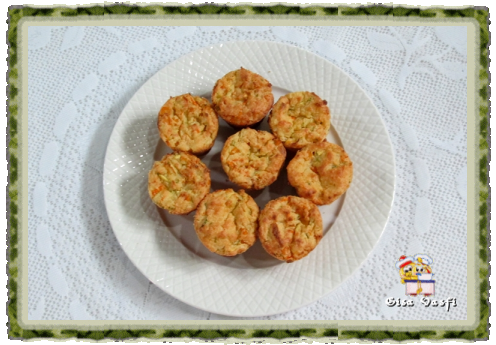 Muffins de arroz com legumes 2