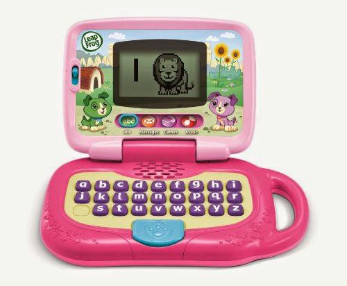Laptop màu hồng dành cho bé gái  - LeapFrog