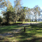 Campsites along the water