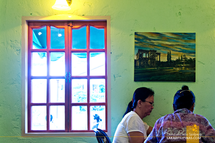 The Cafe at Talisay City's The Ruins
