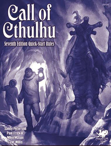Free Quickstart - Call Of Cthulhu 7Th Edition