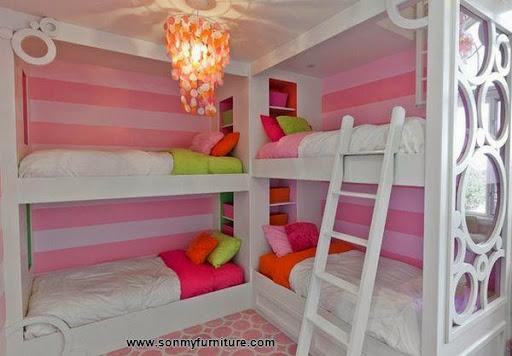 Các mẫu giường góc đẹp cho phòng ngủ nhỏ-9