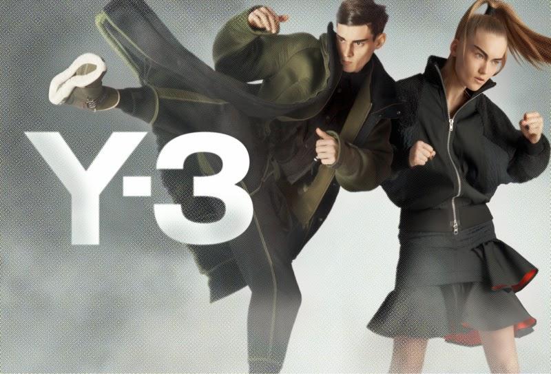 Y-3, campaña otoño invierno 2014