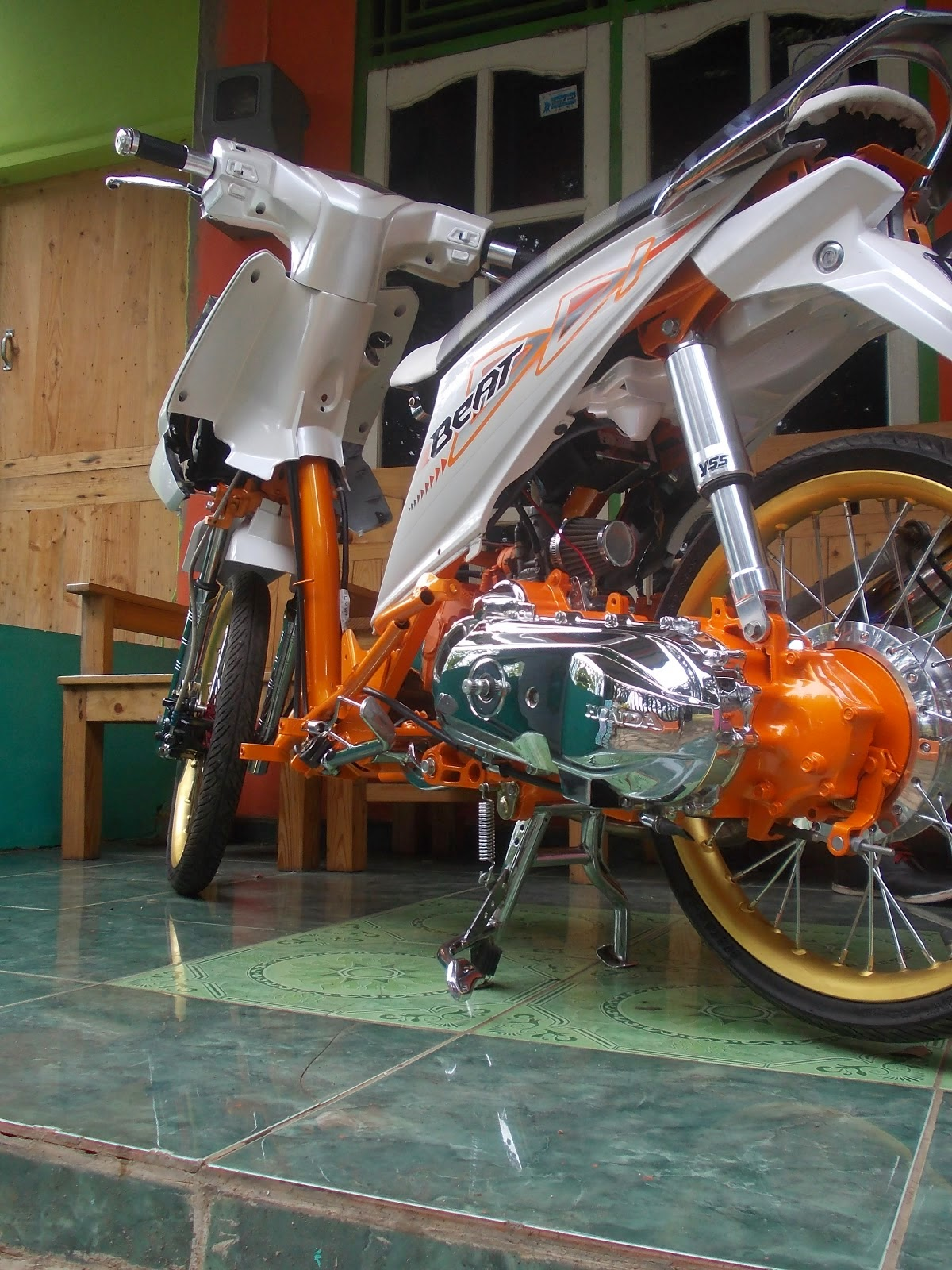 honda beat modifikasi velg 17