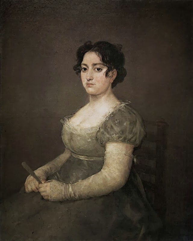 Francisco Goya - Young Woman with a Fan