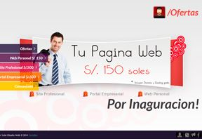Ofertas Paginas web