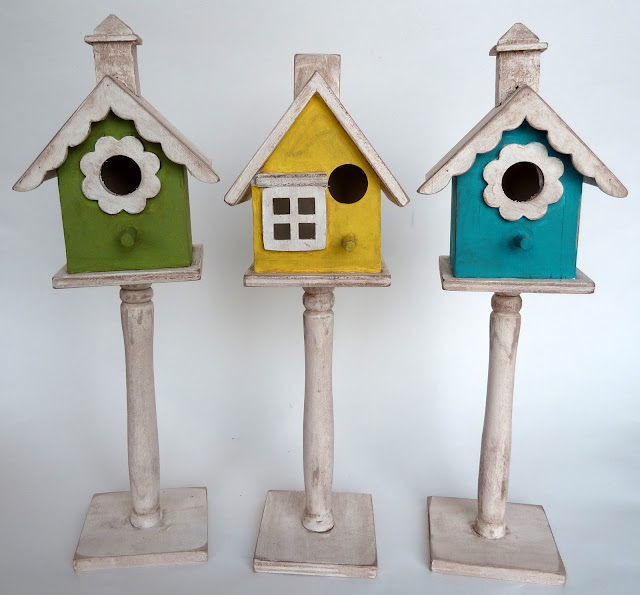 Shabby Bird Houses