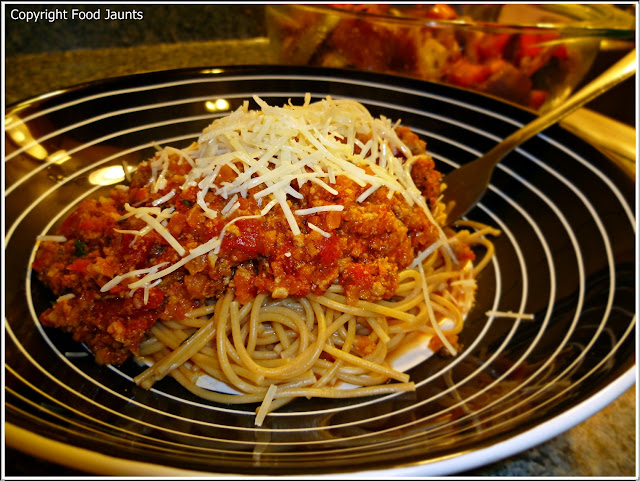 Lightened Up Bolognese Sauce