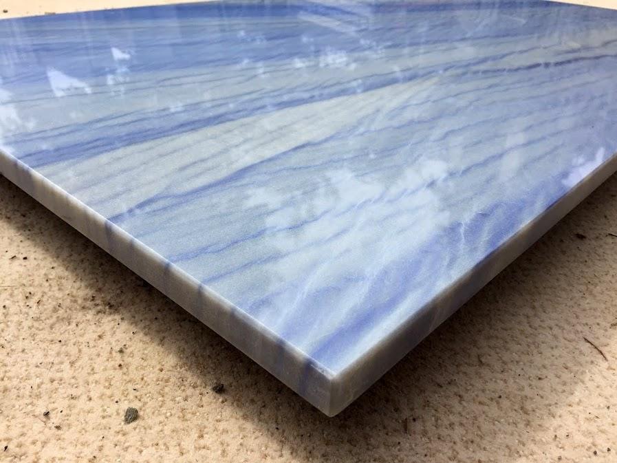 Tischplatte Azul de Macaubas Quarzit/ Granit blau Couchtisch ...
