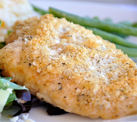 Crispy Herb Baked Chicken Recipe — Dishmaps