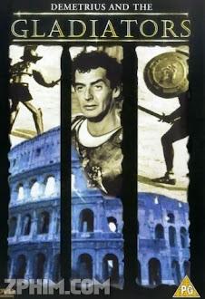 Demetrius Và Các Đấu Sĩ - Demetrius and the Gladiators (1954) Poster
