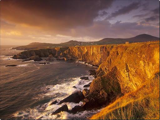 Dingle Peninsula Coastline at Sunset, Near Slea Head, Ireland.jpg