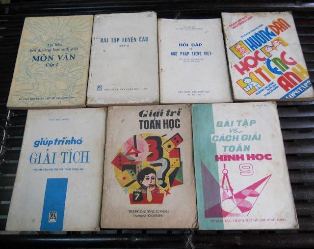 Sách giáo khoa tiểu học cũ - nơi lưu giữ từng trang ký ức DSCN2758
