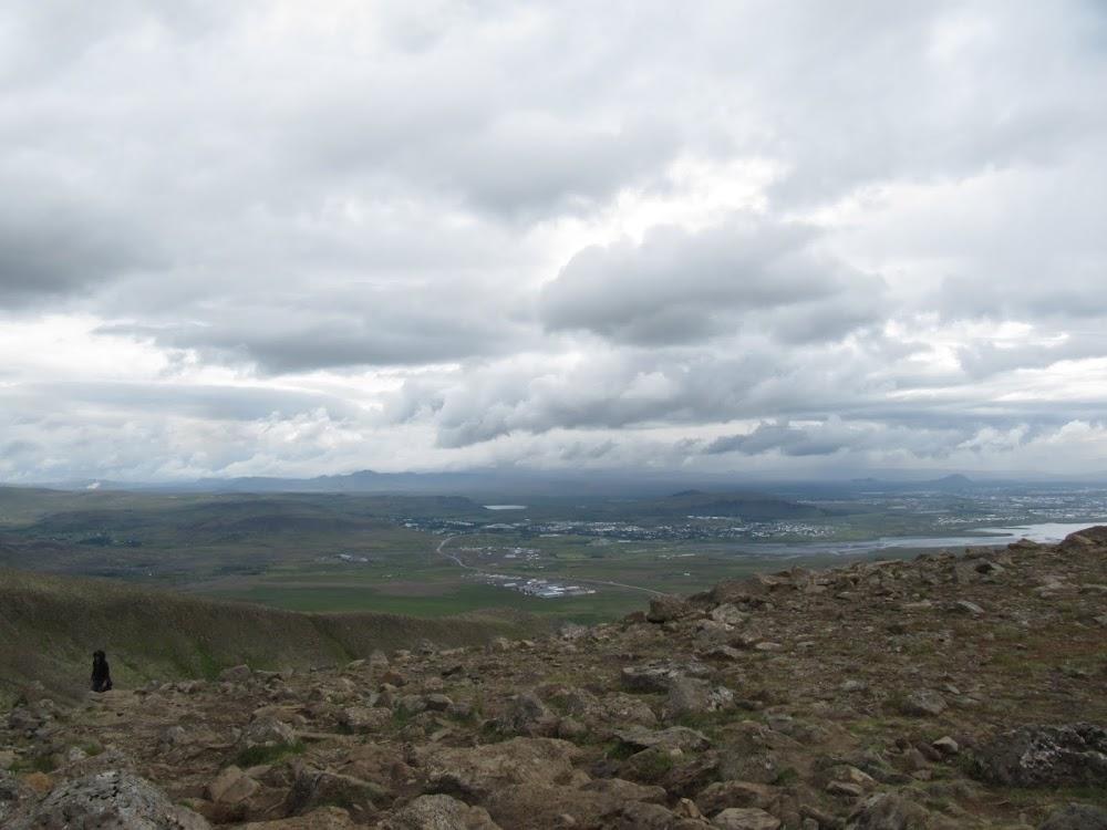 View on Esjan hike