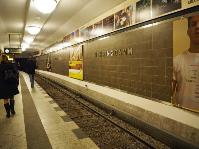 metro, metroasema, kreuzberg, berlin, berliini, germany, mehringdamm,subway station, travel, matka,