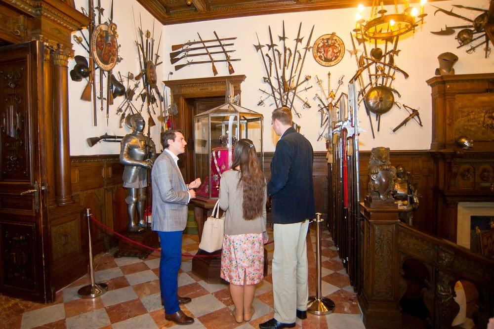 Principele Leka al II-lea al Albaniei a vizitat Palatul Peleș
