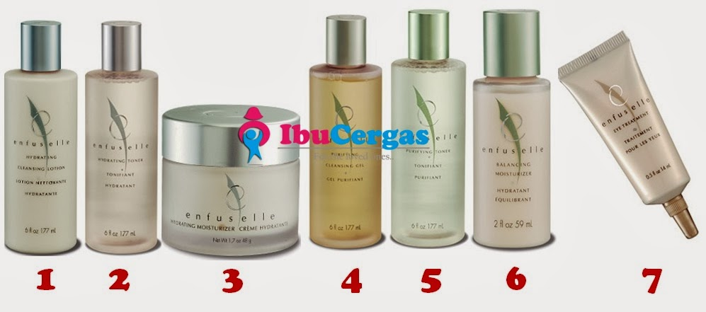 {focus_keyword} Set Kecantikan Kulit Shaklee Enfuselle Enfuselle set