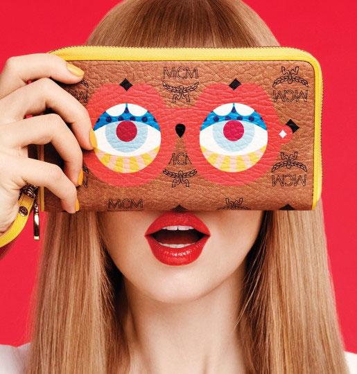 *普普眼鏡撞色包:藝術家Craig & Karl x MCM 2013春夏系列! 1