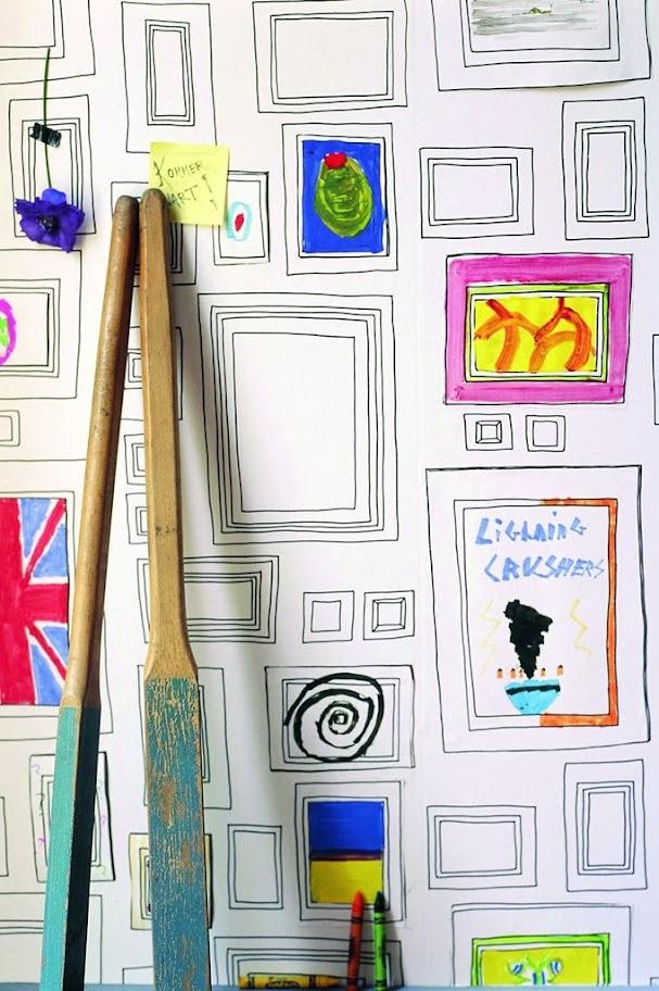 Kinder Tapeten Zum Bemalen : kinderzimmer tapeten ideen