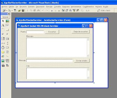 Aplicación servidor para conexión por socket con Visual Basic 6