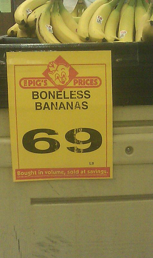 Boneless Bananas