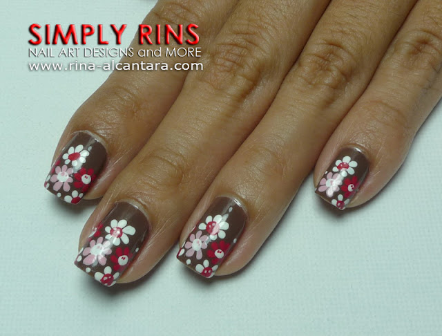A Touch of Pink Nail Art Design