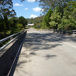 Crossing Stephensons Bridge over the Wyong River (366071)