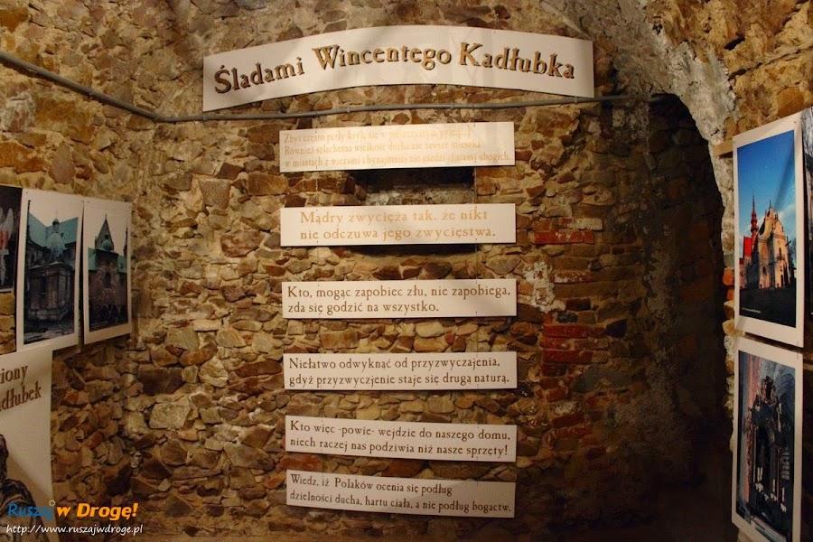 Opatów - podziemna trasa turystyczna - błogosławiony Wincenty Kadłubek