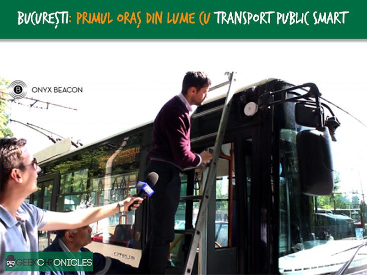 smart public transport ibeacon