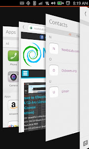 Ubuntu Touch multitasking