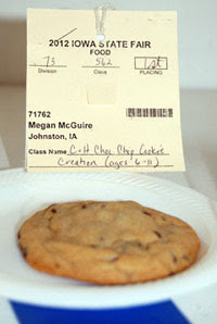 Megan McGuire's Hidden Treasure Chocolate Chip Cookie