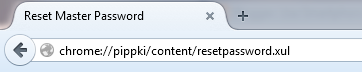 Lupa Master Password di Mozilla